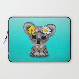 Cute Baby Koala Hippie Laptop Sleeve