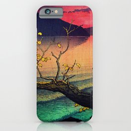 Hailing the Day's End at Towa iPhone Case