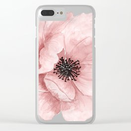 Flower 21 Art Clear iPhone Case