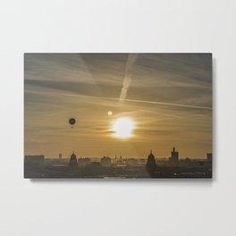 Berlin Skyline Metal Print
