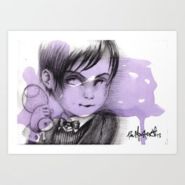 """Mortrait V"" Art Print"