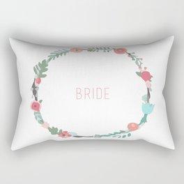 Bride To Be Rectangular Pillow