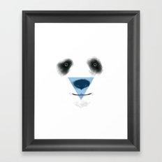 Panda Enlightened Framed Art Print