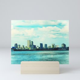 New Orleans Skyline Mini Art Print