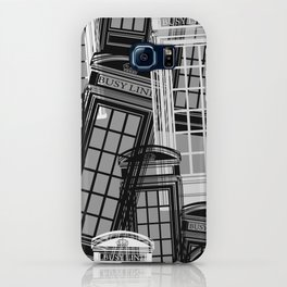 BUSY LINE mono iPhone Case