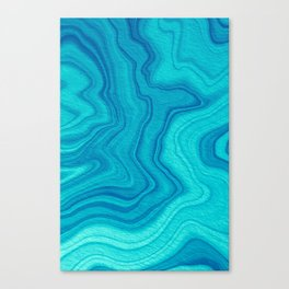 Blue Marble Canvas Print