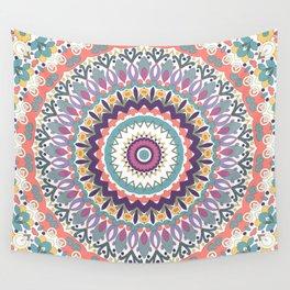 Bloom Mandala Wall Tapestry