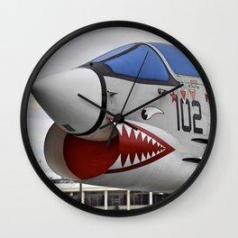 1957 F-8K Crusader Wall Clock