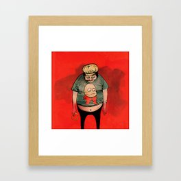 Ring Tosser of Marseille Framed Art Print