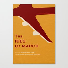 The Ides of March - MINIMALIST POSTER Canvas Print