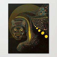 Dark Jaguar Canvas Print
