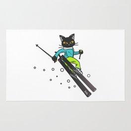 Ski action Rug