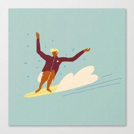 Surf buddy Canvas Print