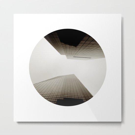 Angles Redux Metal Print