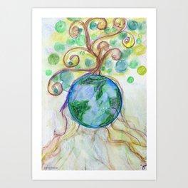 Wild Roots Art Print