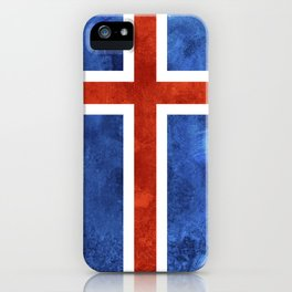 Icelandic Flag iPhone Case