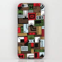 home alone iPhone & iPod Skins featuring Not Home Alone by Nick Villalva