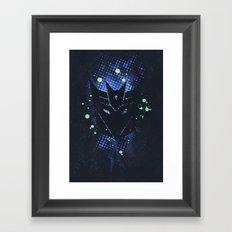 Grunge Transformers: Decepticons Framed Art Print