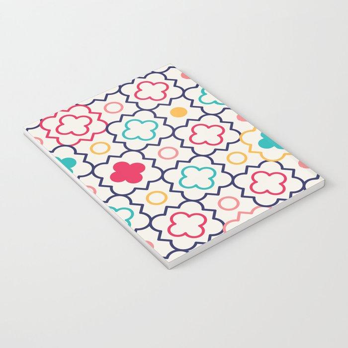 Cute Eastern Pattern Notebook