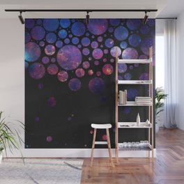 Space Bubbles Wall Mural