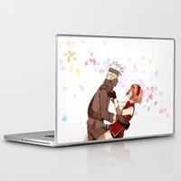 kakashi Laptop & iPad Skins featuring Fleeting Beauty by Pamianime