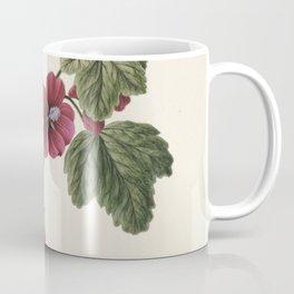 M. de Gijselaar - Twig with purple flowers (1830) Coffee Mug