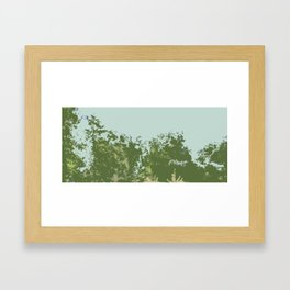 Tree Tops Framed Art Print