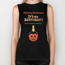 Halloween Birthday Biker Tank