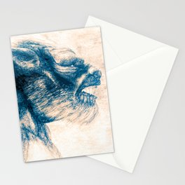 Werewolf Blues Stationery Cards