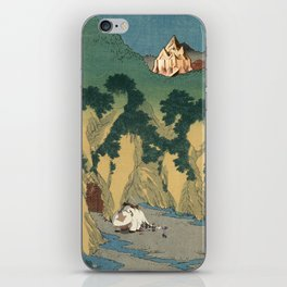 Sado Cave of Two Lovers iPhone Skin