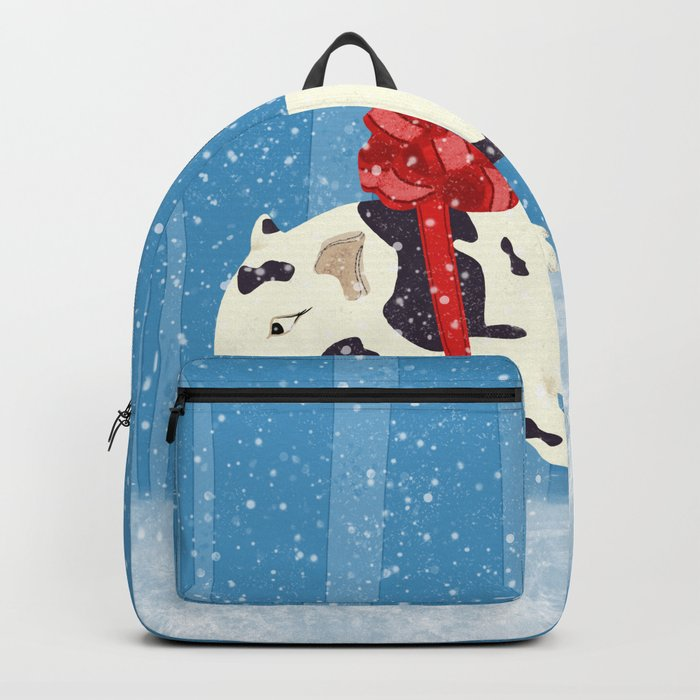 Cute Little Pig Holiday Design Backpack