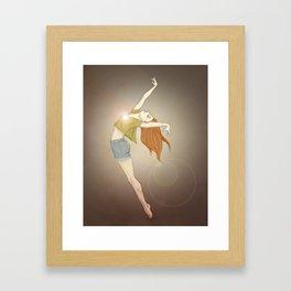 Shining Light Framed Art Print