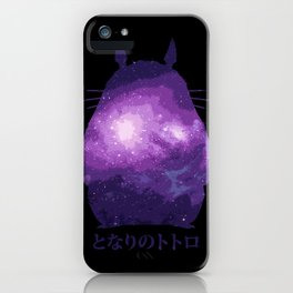 In the Stars(Totoro) iPhone Case