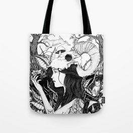 Nature goddess original Tote Bag