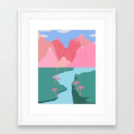 Girls' Oasis Framed Art Print