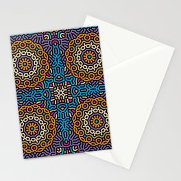 Ofrenda The day of the Dead - Reaction diffusion Stationery Cards