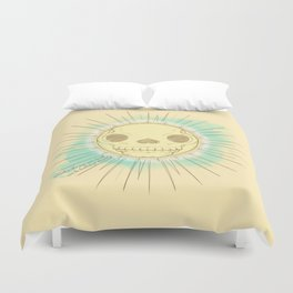 Neither the sun nor death can be looked at steadily Duvet Cover