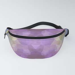 """""""Carnival time"""" triangles design Fanny Pack"""