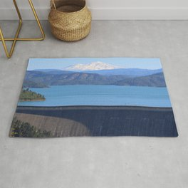 Mount Shasta and Shasta Lake Rug