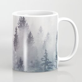 Winter Wonderland - Stormy weather Coffee Mug
