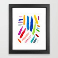 Emile Pattern Framed Art Print