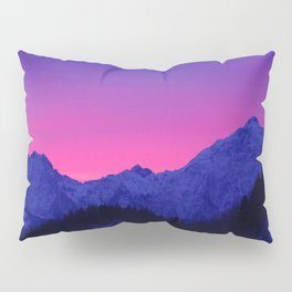 Dawn in Mountains Pillow Sham