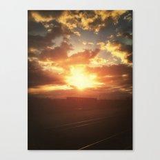 Boom Canvas Print