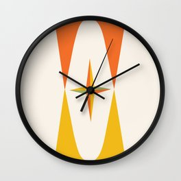 Mid Century Retro Pop Art 018 Wall Clock