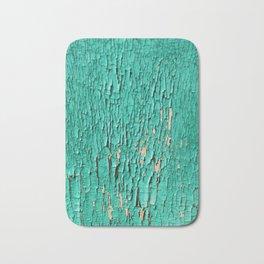 Shedding Green Bath Mat