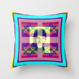 LEONARD NIMOY/POP ART/JUDAICA Throw Pillow