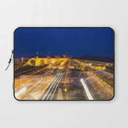 Abstract Lisbon - Castle View Laptop Sleeve
