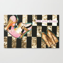 I Love Your Shoes. Canvas Print
