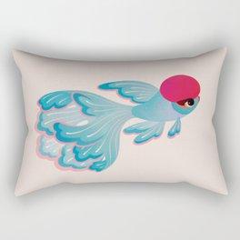 Red cap Oranda 2 Rectangular Pillow