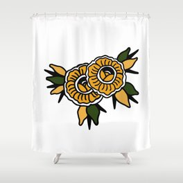 Couple of flowers Shower Curtain